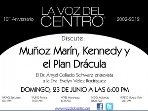 Muñoz Marín, Kennedy e el Plan Drácula