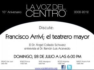 Francisco Arriví: el teatrero mayor