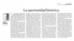 NDía - ACS 2013-08-16 La oportunidad histórica