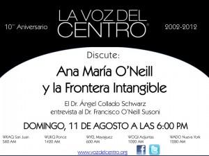 Ana María O'Neill y la Frontera Intangible