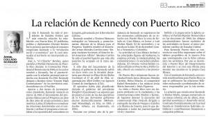 La relación de Kennedy con Puerto Rico