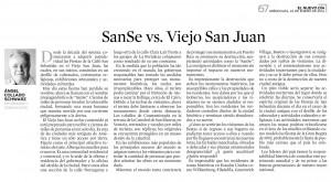 SanSe vs. Viejo San Juan
