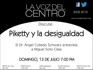 Piketty y la desigualdad
