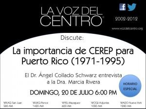 La importancia de CEREP para Puerto Rico (1971-1995)