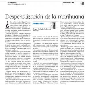 Despenalización de la marihuana