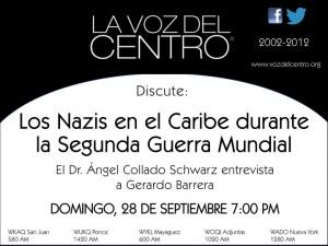 Los Nazis en el Caribe durante la Segunda Guerra Mundial