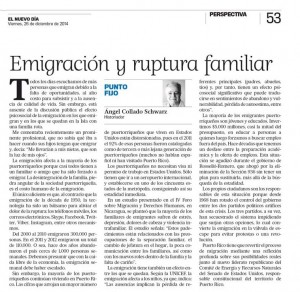 NDía - ACS 2014-12-26Emigración y ruptura