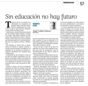 NDía - ACS 2015-01-29 Sin educación no hay futuro