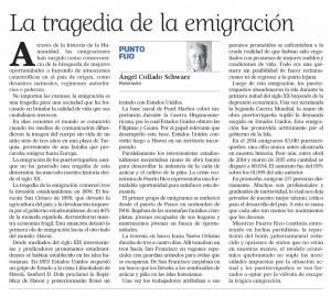 2015-09-24 LA TRAGEDIA DE LA EMIGRACIÓN