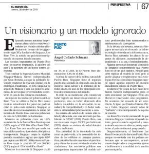 Un visionario y un modelo ignorado