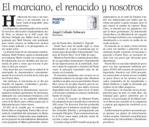 2016-01-28 EL MARCIANO EL RENACIDO Y NOSOTROS