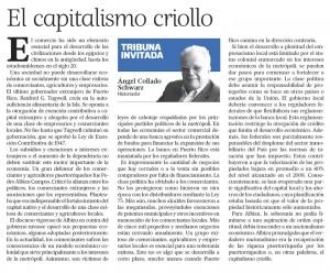 2016-07-28 EL CAPITALISMO CRIOLLO