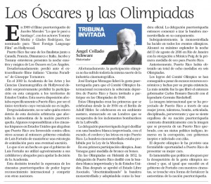 2016-08-25 LOS OSCARES Y LAS OLIMPIADAS