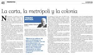 2017-04-27 LA CARTA LA METROPOLI Y LA COLONIA
